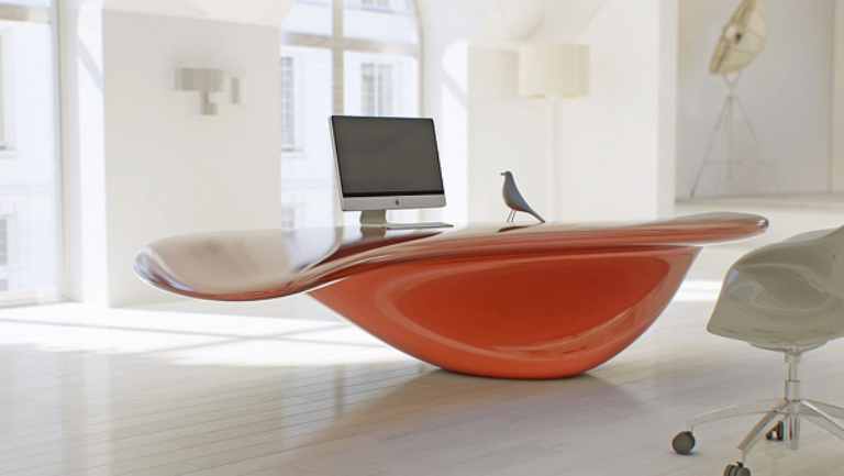 10 cool modern unique desks