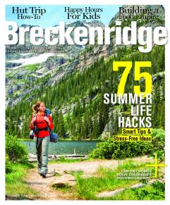 BRECK SUMMER COVER